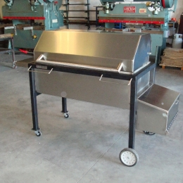 CUSTOM STAINLESS STEEL BBQ-GRILL