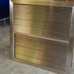 STAINLESS STEEL RETURN AIR GRILL