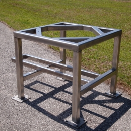 STAINLESS STEEL SUPPORT FRAME