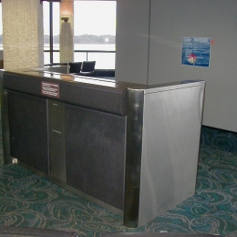 STAINLESS STEEL TICKET COUNTERS