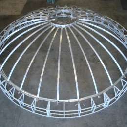 TITANIC LIGHTED DOME (DURING FABRICATION)